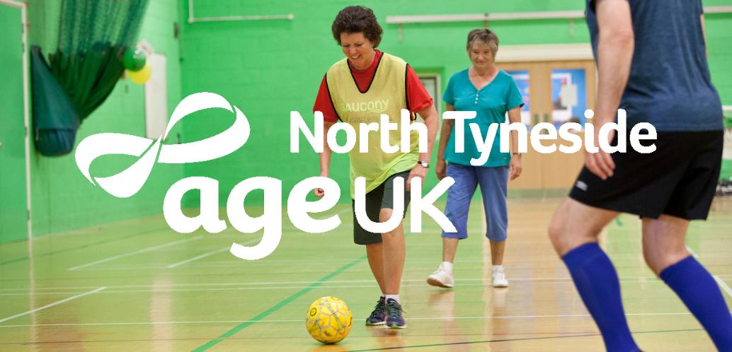 Age UK North Tyneside Walking Football Skills